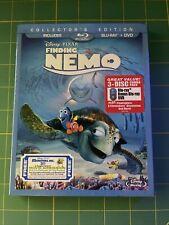 New listing Finding Nemo (Blu-ray/Dvd, 2012, 3-Disc Set) Brand New Still In Factory Plastic