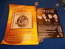 Fleetwood Mac 2004 Austrailian Tour Very Best of CD Poster Lot Stevi Nicks