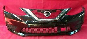 2016 2017 2018 Nissan Sentra Front Bumper Cover OEM USED