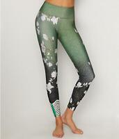 Onzie Womens Graphic Midi Blossom Leggings Size S/M