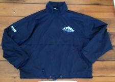 """Ping Black Mountain View Seeds Zip Parka Golf Jacket Coat Mens Quick Dry L 55"""""""