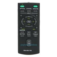 Replacement Remote Control RM-ANU159 For Sony HT-CT60/C SA-CT60 SS-WCT60 New