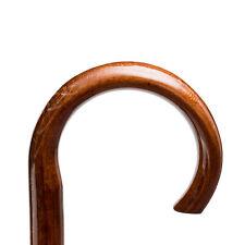 Gehstock Spazierstock  Wanderstock  aus Holz aus Manufaktur Tyl Rundhakengriff