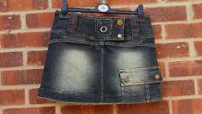 R&B casualwear London uk jeans  denim mini skirt size UK 12