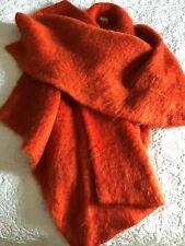 CHRISTIAN DIOR Dior2 SUPERB MOHAIR ORANGE CAPE / COAT