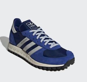 Adidas TRX Vintage Retro Casual Lifestyle Shoe Blue White FY3651 Sizes 8-12