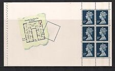 1991 Gb Qeii Royal Mail Ex Dx12 Prestige Booklet Pane Agatha Christie Sg X1008M
