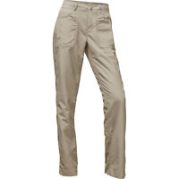 New The North Face Horizon 2.0 Hiking Convertible Pants Womens Dune Beige 10