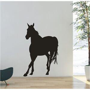 Wandtattoo Pferd  reiten Pferde Pony Reiter Wandsticker Wandaufkleber Sticker 3