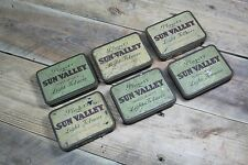 ONE Vintage Players Sun Valley Light Empty Tobacco Tin (multiple available)