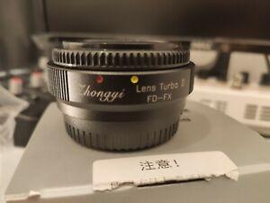 Zhongyi lens turbo ii canon FD to Fuji FX mount speedbooster