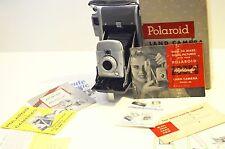 POLAROID 80 Highlander Land Camera Vintage w/ box instr