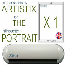 "1 x Mat pack Silhouette Portrait Cameo 2 cutting A4 8 x12"" Save on Carrier sheet"