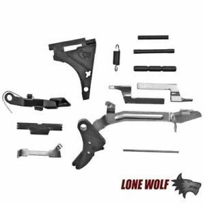 Lone Wolf Universal Trigger Parts Lower Glock 17 19 22 23 26 27 Kit Gen 2 3 LWD