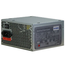 Inter-Tech SL500 500W Netzteil 3x SATA passives PFC NEU