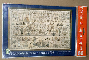 Dutch Beauty Sampler 1790 Permin of Copenhagen Danish Art Needlework CHART