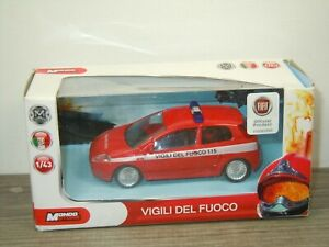 Fiat Grande Punto Vigili Del Fuoco - Mondo Motors 1:43 in Box *50910