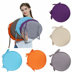 Round Garden Chair Warm Pads Seat Cushion For Outdoor Bistro Stool Home Dining