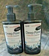2 epielle® Oil-Free Deep Pore Activated Charcoal Face Wash Cleanser 6.77 oz ea