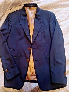 100% genuine Vivienne Westwood navy blue suit jacket size 52 (VW size)