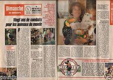Coupure de presse Clipping 1988 Marlyse de la Grange (2 pages)