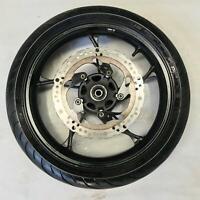 Front wheel rim tyre disc rotor straight BRAAAP MOTO3 250 MOTO 3 2015