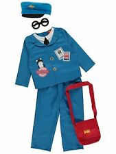 George Postman Pat Boys Fancy Dress Costume Outfit World Book Day & Accessories