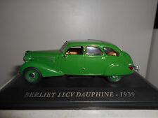 BERLIET 11CV DAUPHINE 1939 VOITURES D´AUTREFOIS ALTAYA IXO 1/43