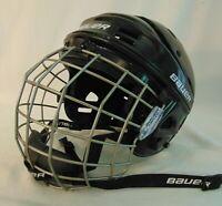 Bauer Ice Hockey Players Helmet Face Mask Junior S True Vision II Black