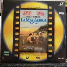 LASER DISC - LA MIA AFRICA - DOPPIO CD LASER DISC SIGILLATO R.REDFORD M.STREEP