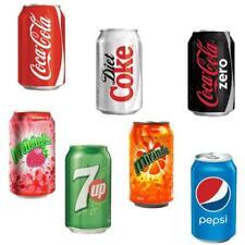 24 x 330ml Cans Soft Drinks Coke Pepsi Mirinda Strawberry Orange Fanta Sprite