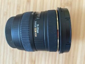 Sigma 10 - 20mm DC HSM (Canon)