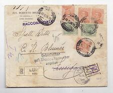 Z331-RACC. DA LUGO (RA) A ZURIGO 1926