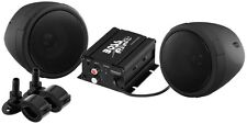 NEW BOSS AUDIO MCBK420B MOTORCYCLE ATV UTV BLUETOOTH 2 SPEAKER SOUND SYSTEM 600W