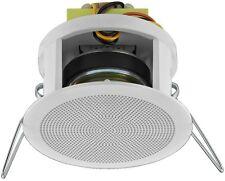 Monacor ELA Deckenlautsprecher Lautsprecher Decke 100V EDL-22/WS