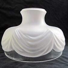 "10"" GLASS SHADE oil kerosene lamp student Coleman style fit RAYO B&H MILLER etc."