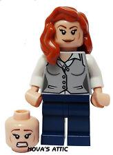 LEGO SUPERHEROS LOIS LANE DUEL HEAD MINIFIGURE GENUINE BRAND NEW