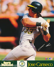LOT OF 2 SMALL POSTERS :BASEBALL: JOSE CANSECO  - OAKLAND A'S    #6586    LP51 U