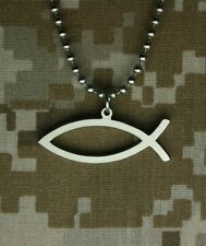 Gi Jewelry Limited Edition Ichthys Military Pendant Special Factory Over Run
