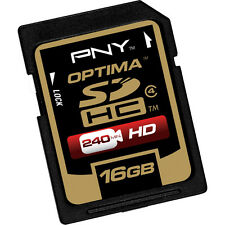 PNY 16G HD SDHC SD card for Canon PowerShot G15 G12 G11 G10 G9 G8 SX150 camera