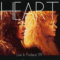 Heart - Live In Portland '89 (2015)  CD  NEW/SEALED  SPEEDYPOST