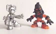 DOCTOR WHO TIME SQUAD FIGURES - Cyberman and Pyrovile