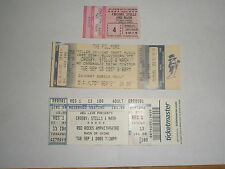 CROSBY STILLS AND NASH ~ Lot of 3 Stubs 1982, 1997, 2009 ~ NEAR MINT