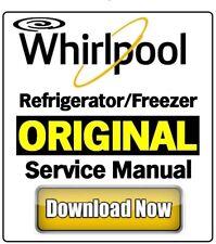 Whirlpool Refrigerator Freezer Service Manual EU model of your choice!