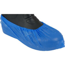 Disposable Pool Overshoe Covers Leisure Centre - Pack of 100 - Blue - New
