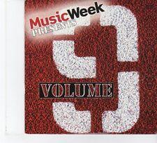 (FR33) Music Week pres. Vol 9, 9 tracks various artists - 2011 CD