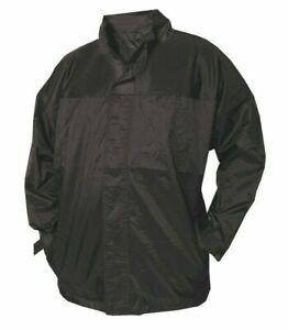 Waterproof Kagool Raincoat Jacket Quality Unisex Midweight Lined Ma Jacket Mens