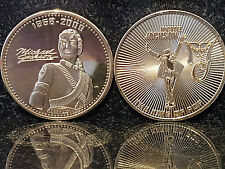 Michael Jackson King Of POP Coin Gold Autograph Signature MJ Hall of Fame US usa