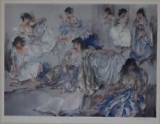 Sir William Russell Flint - Variation Limited Edition Signed & Gallery Stamped