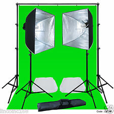 Linco Lincostore Studio Lighting Strobe Flash Photo Backdrop Light Stand Kit